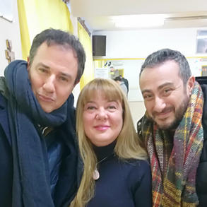 Giampiero Ingrassia e Claudio Insegno