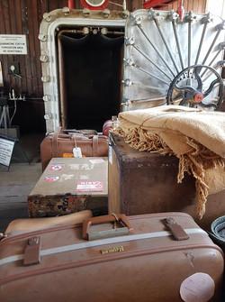 Quarantine luggage