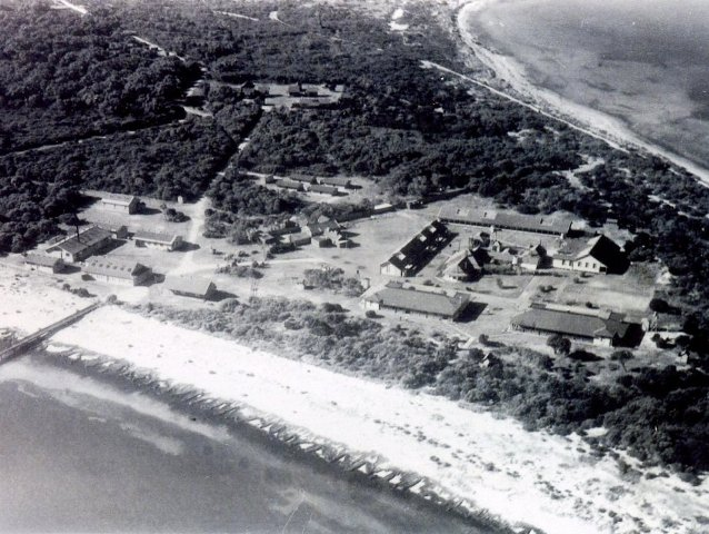 Woodman Point aerial view 3 c1940s