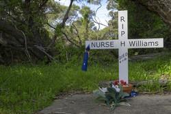 Nurse Williams' gravesite