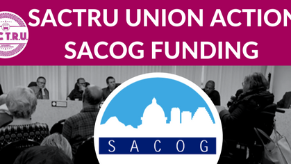 SacTRU Supports $20 million in SB1 Funding from SACOG for SacRT