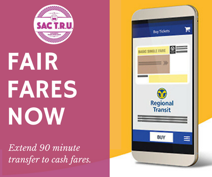 Reduced Fares, Reinstated Transfers, Increased Weekend Service!!