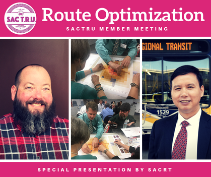 SacRT Route Optimization Update