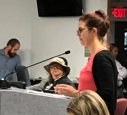 Members Advocate at RT Board Meeting