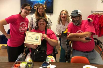 SacTRU Receives Top Banana Award!