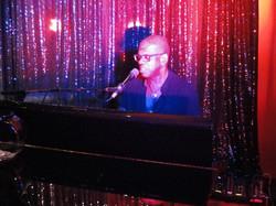 Nathaniel Reed on piano