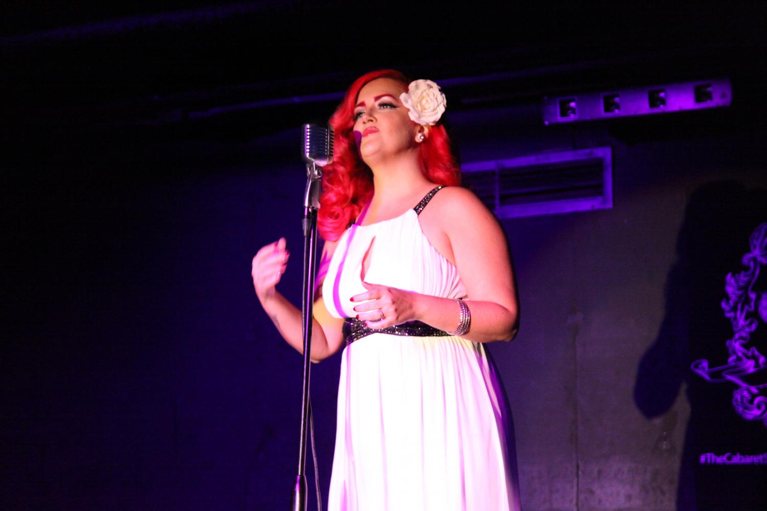 EnVee sings at The Cabaret