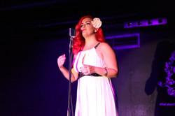 EnVee sings at The Cabaret
