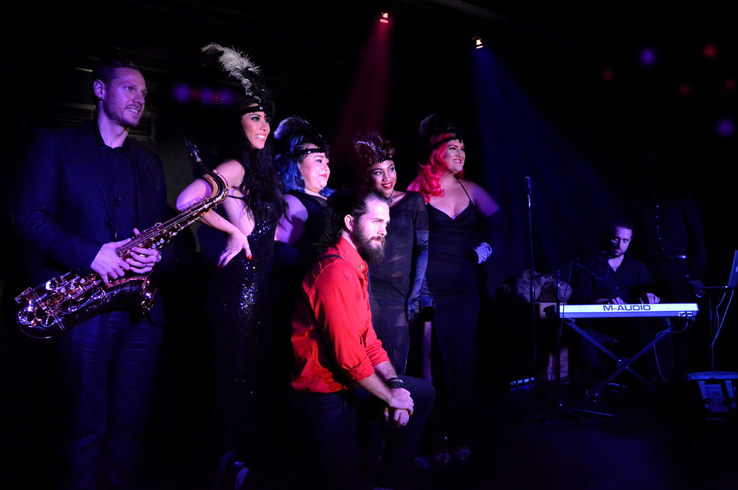 The Cast of The Cabaret South Beach