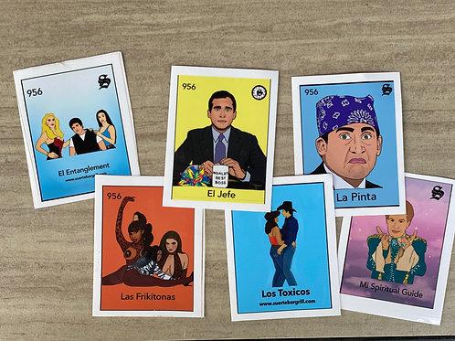 Suerte Loteria Vinyl Stickers
