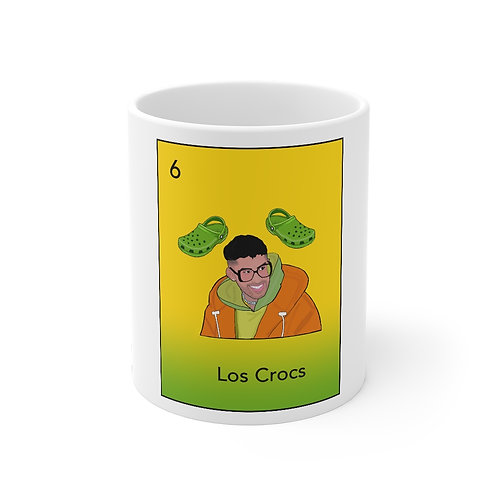 Bad Bunny Y Los CrocsMug 11oz