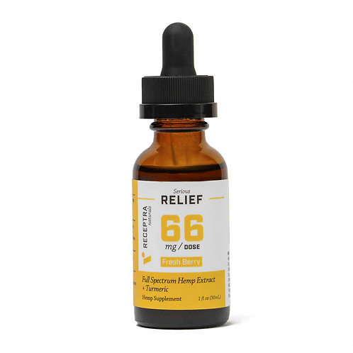 Serious Relief + Turmeric Tincture 66mg/dose (1oz)