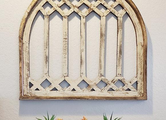 White Gela Window