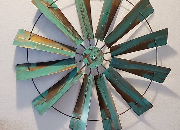 Turquoise Windmill