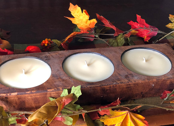3 Wick Cheese Mold Candle