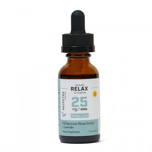 Serious Relax + Lavender Tincture 25mg /dose (1 oz.)
