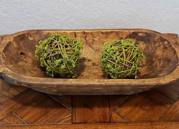 """20"""" Tochi Wood Bowl"""