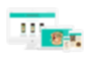 The Olive Lady web design
