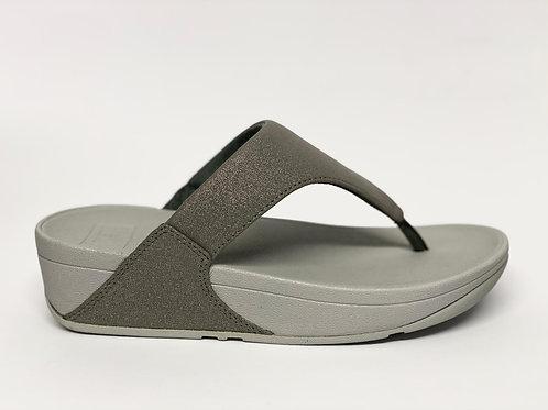 Fitflop Lulu Shimmer Pewter grijs