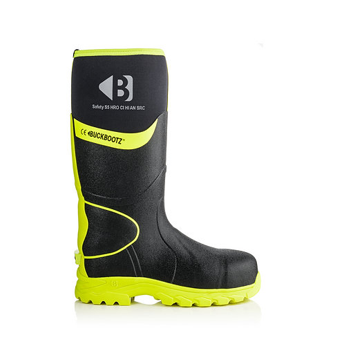 Buckler Boots Laars BBZ8000 S5 HRO Zwart/Geel