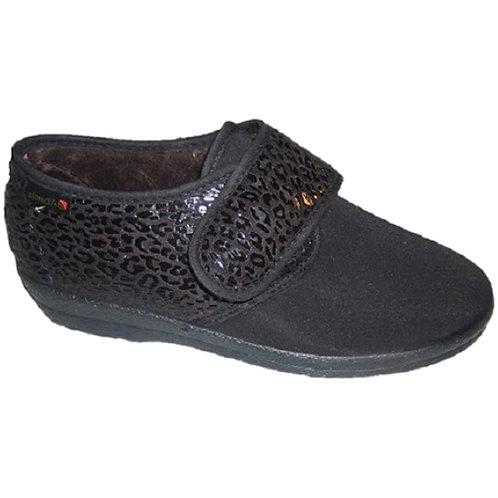 Alberola Stretch Pantoffel Met Klittenband 411581