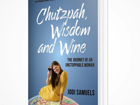 Chutzpah, Wisdom and Wine- Book Review
