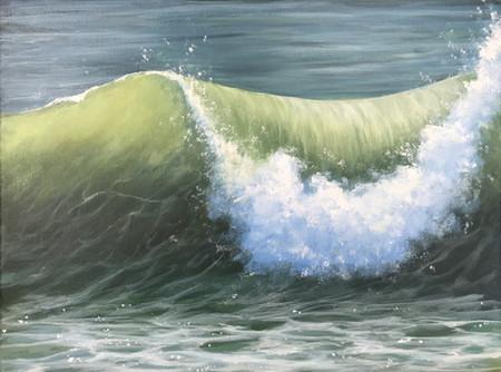"""Crashing Wave"""