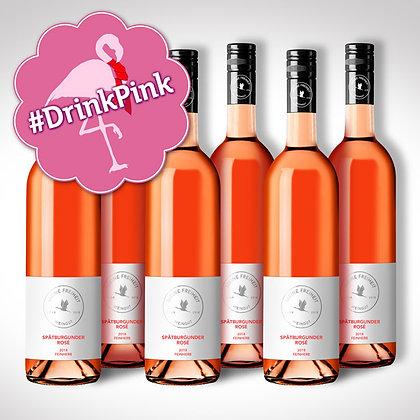 #DrinkPink 6 Flaschen Spätburgunder Rosé feinherb 2018