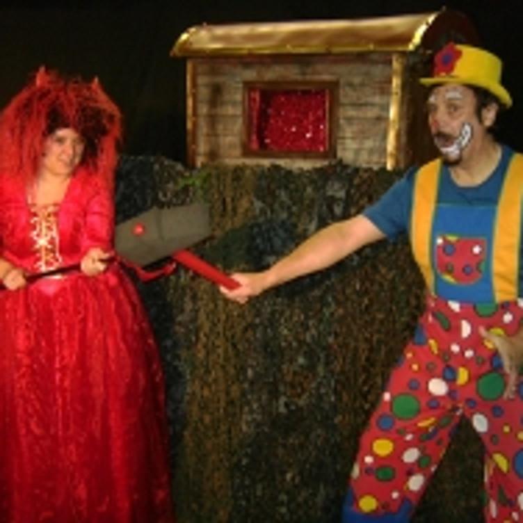 Clown Dobbel en de heksenzwam