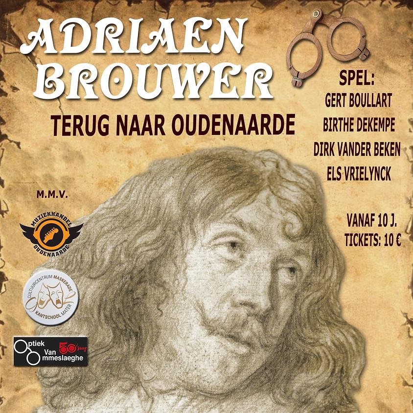 Adriaen Brouwer - Terug naar Oudenaarde - UITVERKOCHT