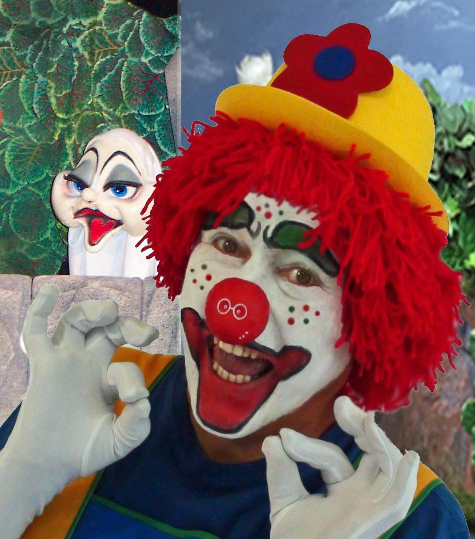 Clown Dobbel en het spookje