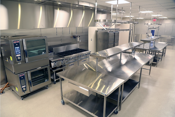 southern auto auction's stainless steel kitchen