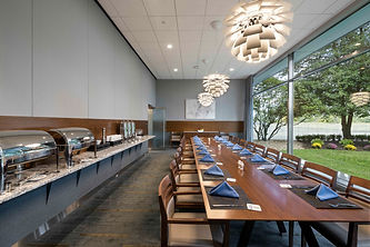 Private dining at Cigna cafeteria in Bloomfield, Connecticut