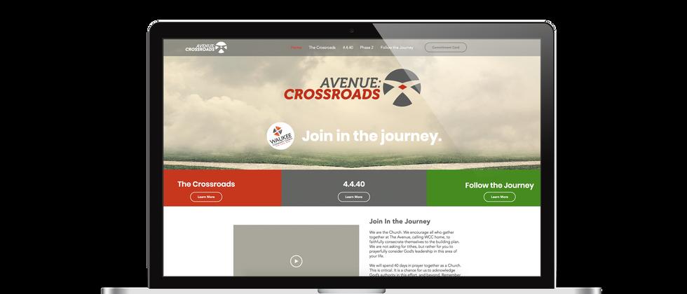 Avenue Crossroads Campaign Website
