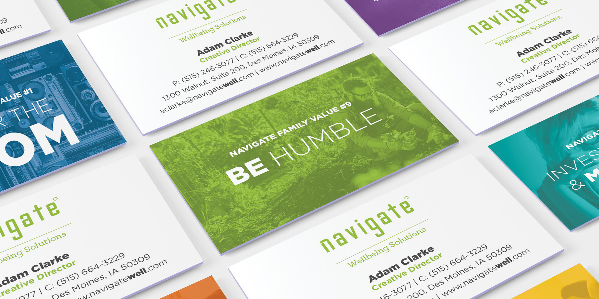 Navigate Business Cards