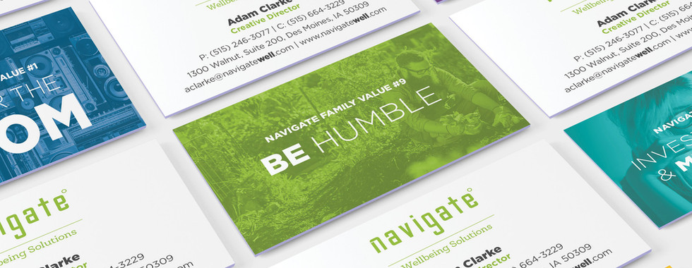 Navigate Business Cards