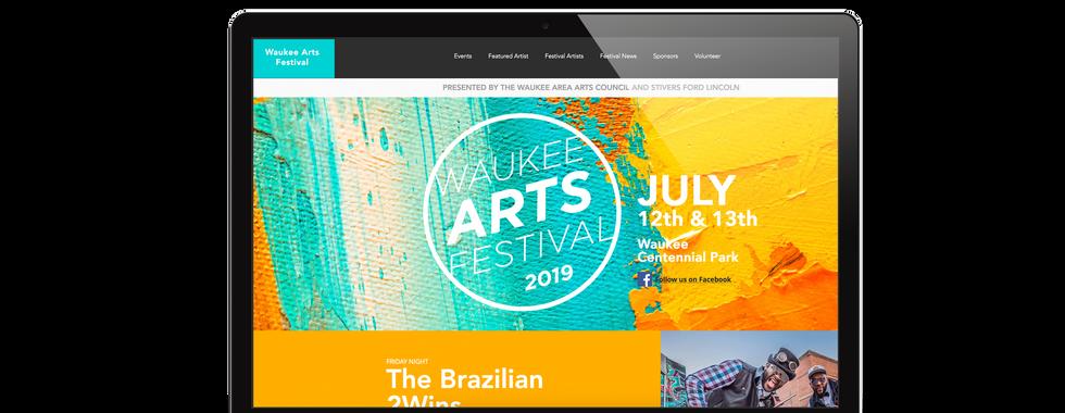 Waukee Arts Festival Website