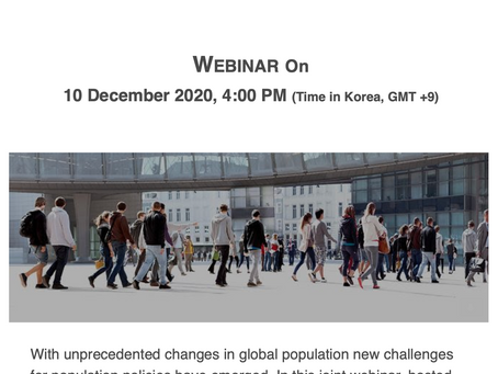 [10-10 Project]  Webinar | Population Dynamics and Social Policy