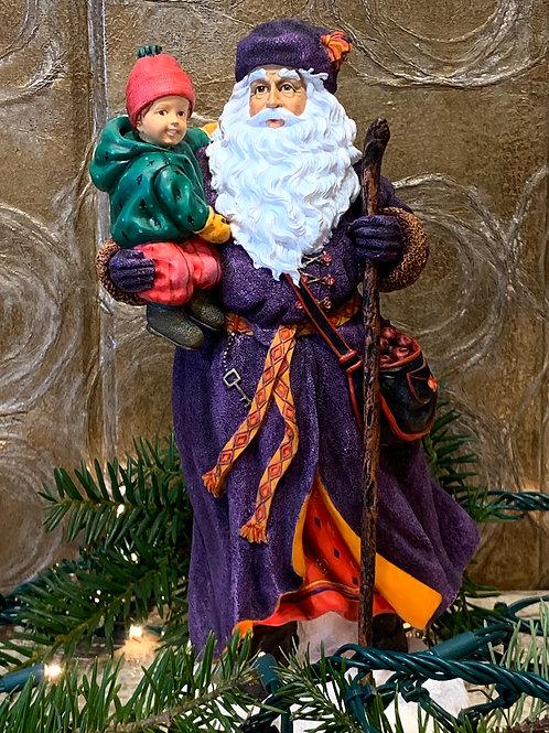 Traveler Santa