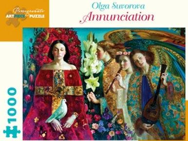 The Annunciation by artist Olga Suvorova