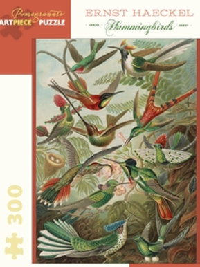 Hummingbirds by artist Ernst Haeckel