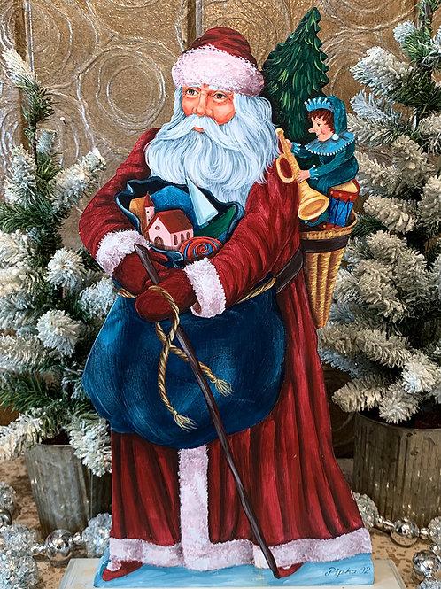 Santa with Toys