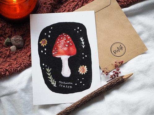Autumn Season Poster A5