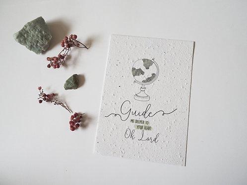 Guide me | Bloei kaartje