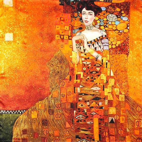 """Carré Gustav Klimt """"Portrait d'Adele Bloch-Bauer"""""""