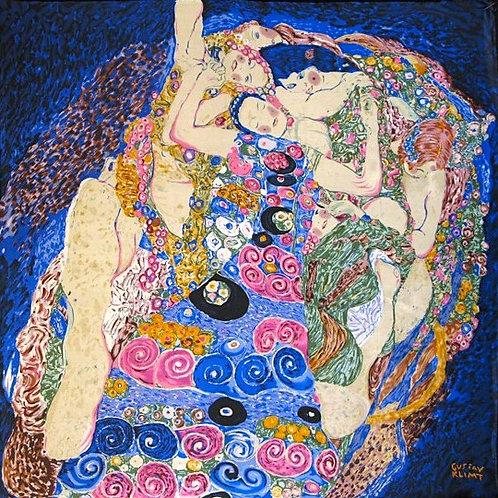 """Carré Gustav Klimt """"Les Vierges"""""""