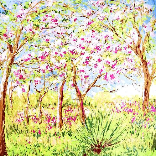 """Carré Claude Monet """"Printemps à Giverny"""""""