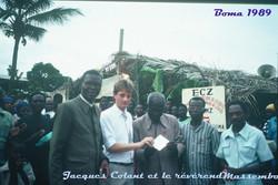 Jacques Colant 1er voyage au Zaïre