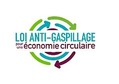 Logo loi anti gaspillage