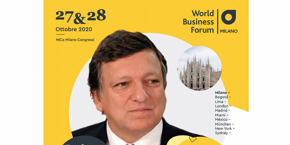 WayOut is once again Technical Partner of WOBI World Business Forum Milan 2020